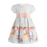 """Платье """"маленькая принцесса"""" голубое"""