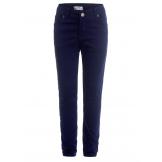 Стильные брюки для мальчика в школу, синие