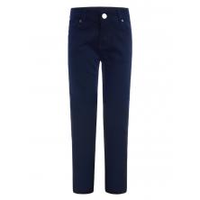 Стильные брюки для мальчика в школу, темно-синие
