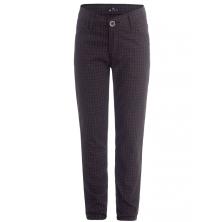 школьные брюки идеального кроя бордовые