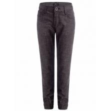 Модные брюки в школу, бордово-коричневые