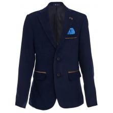 Модный пиджак для мальчика, синий