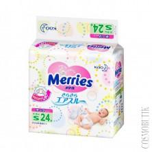 Подгузники Merries (0-5 кг) 24 шт