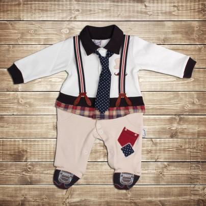 Костюм-боди для малыша в виде костюмчика