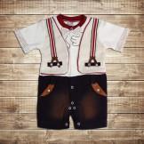 Мягкий костюм-боди для новорожденного