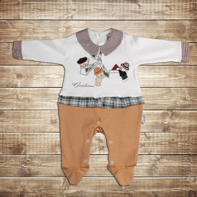 Оригинально бостюм-боди для новорожденного