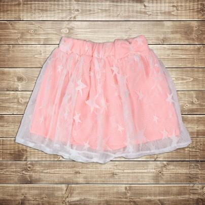 Юбка для девочки розовая