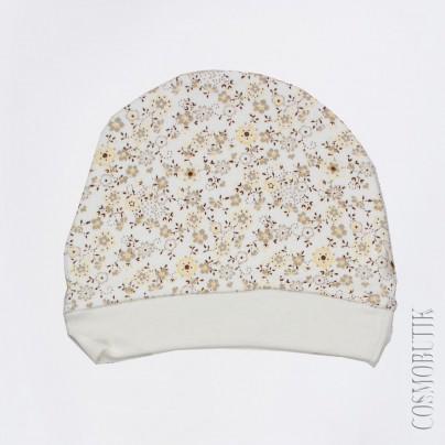 Яркая шапочка для новорожденного