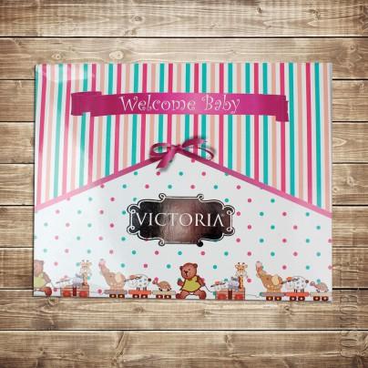Постельное белье для детской кроватки с ярким принтом