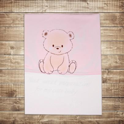 Детское одеяло розовое