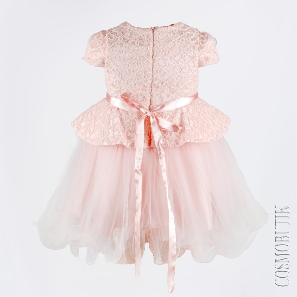 Платье Для Девочки С Баской Купить