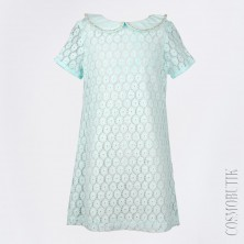 Платье мятного оттенка