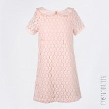Платье персиковое Lome