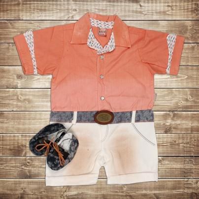 Оранжевый боди
