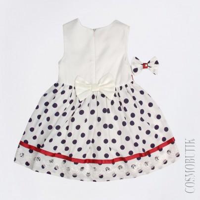Платье для новорождённой девочки