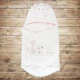 Конверт для новорожденного из плюша Bebitof на кнопках