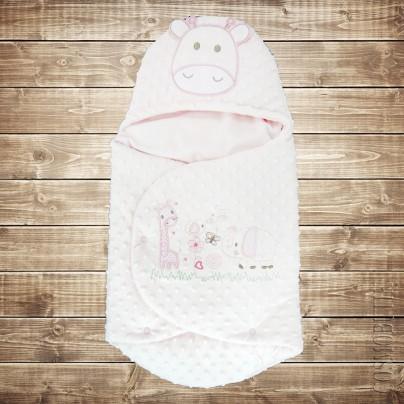 Конверт для новорожденного из плюша