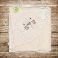 Детское махровое полотенце и салфетка
