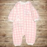 Плюшевый костюм-боди для новорожденного