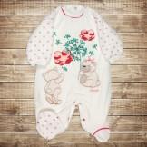 Комбинезон для новорожденного на кнопках от компании Bestido