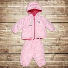Теплый костюм для новорожденного от компании Bebessi