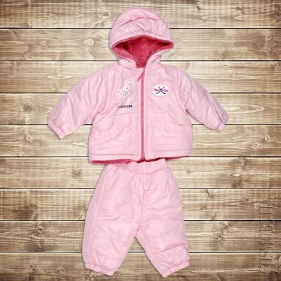 Теплый костюм для новорожденного