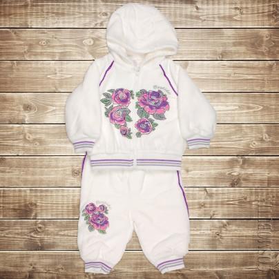 Теплый костюм  для новорожденного от компании Bestido