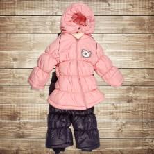 Зимний костюм для новорожденного