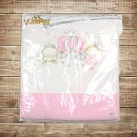 Утепленный конверт-одеяло для новорожденного на молнии
