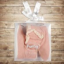 Сапожки для новорожденного