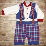 Разноцветный костюм-боди для новорожденного