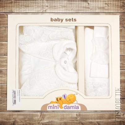 Набор для новорожденного на выписку 3 предмета