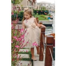 Платье Mialora-13614-1 с ободком, без рукавов, талия завышена