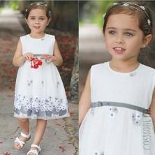 Вечернее платье с вышивкой  Lilax