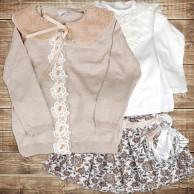 Одежда для девочки - Костюм с юбкой