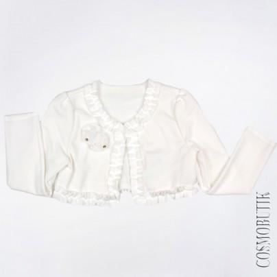 болеро, нарядная одежда для девочки, вечернее платье, кружево, стразы