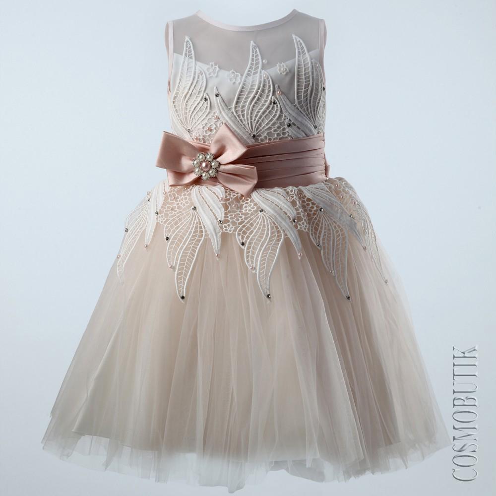 0ffe16ee41e Нарядное платье для девочки Miss Trendy