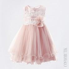 Платье бежевое для девочки
