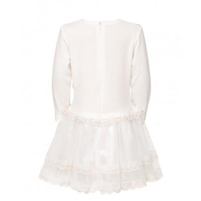 Платье для девочки кремового цвета