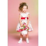 Яркое платье стиляги