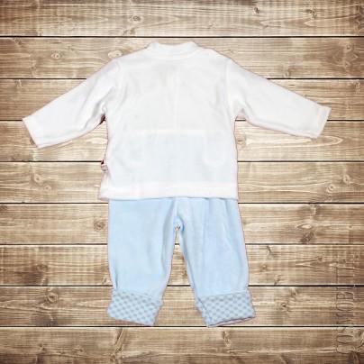 Плюшевый костюм для младенца из хлопка
